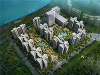 南岸西区 锦绣龙城 清水三室 105平米 对中庭又看江118万出售