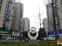 鼎业兴城 标准三室 一般装修 带90平米花园