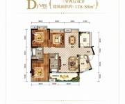 D户型三室两厅双卫