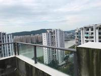 锦绣龙城带80平顶楼露台,望江望中庭