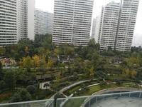丽雅龙城正中庭位置,黄金楼层