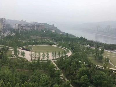 锦绣龙城136户型,看公园看江