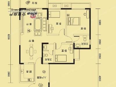 鑫领寓8974单价!买117户型高层