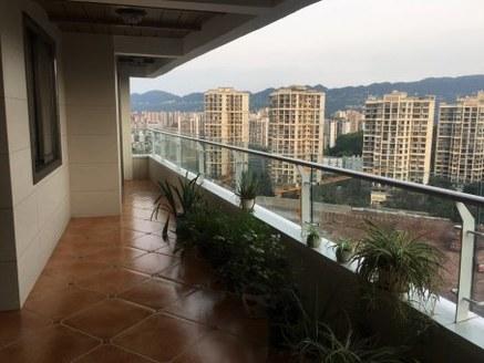 丽雅龙城117户型,带车位的标准3房,视野开阔