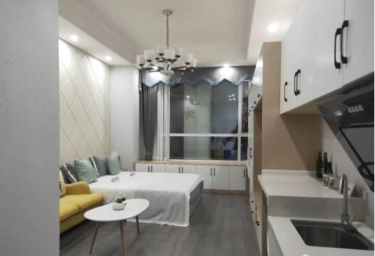 宜宾紫金广场 精装修单身公寓 买了可收租