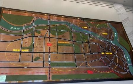 南岸西区 高铁站99平三房2卫 均价8800 开发商直售