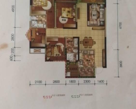 出售临港中央4室2厅2卫134平米108万住宅