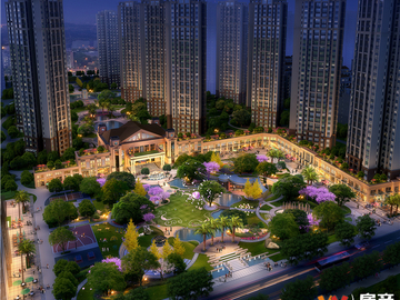 邦泰国际社区·花园城(北区)效果图