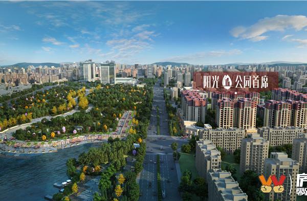 上江北公园旁新小区 首付7万三房两卫 超大户型可选择