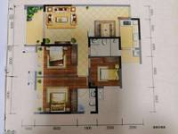 出租邦泰国际社区 北区 3室2厅2卫112平米1200元/月住宅