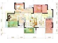 出售经典 柏悦府3室2厅2卫128平米65万住宅