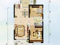 D街区中庭方正2室全装带家具家电87平78万
