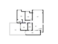 紫金城3室带40平大院子诚心出售