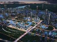 上江北天空之城首付18万起可买3房,专车接送,找我有团购优惠20888一套