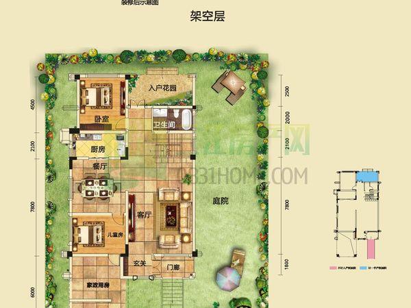 宜宾新房别墅,带私人超大露台,带超大花园,江景房,我是渠道部的,不收任何费用的
